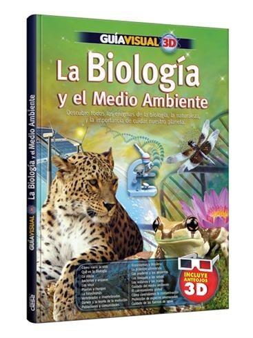libro guía visual 3d la biología y el medio ambiente clasa