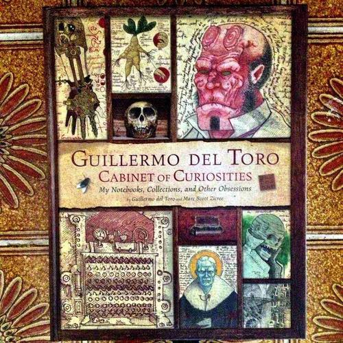 libro guillermo del toro firmado cabinet of curiosities