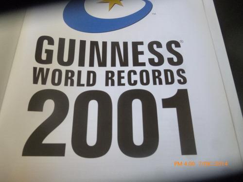 libro guinness de los records 2001  (823