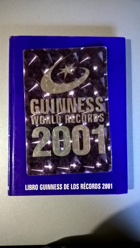 libro guinness de los récords 2001
