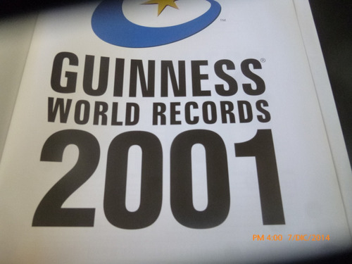 libro guinness de los records 2001  (r489