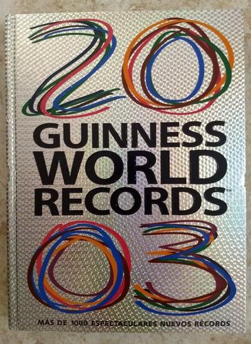 libro guinness world récords 2003