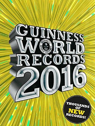 libro guinness world records 2016 - nuevo