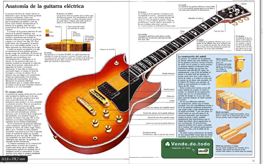 Lujoso Anatomía De La Guitarra Eléctrica Foto - Imágenes de Anatomía ...