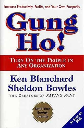 libro gung ho!: turn on the people in any organization