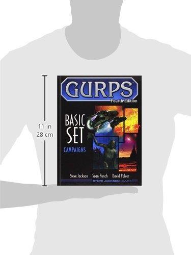 libro gurps basic set campaigns - nuevo