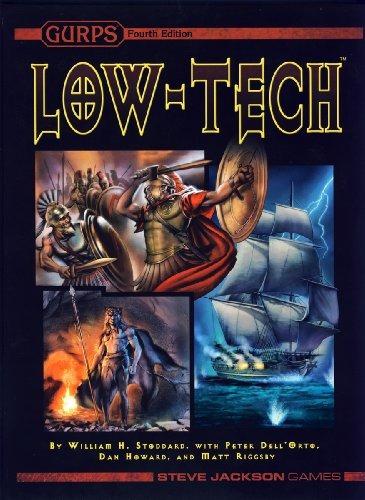 libro gurps low-tech - nuevo