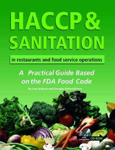 libro haccp & sanitation in restaurants and food service ope