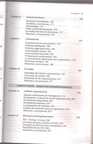 libro hall richard h organizaciones estructuras procesos *16