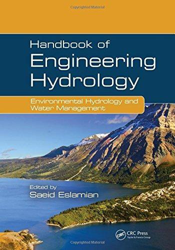 libro handbook of engineering hydrology: environmental hyd
