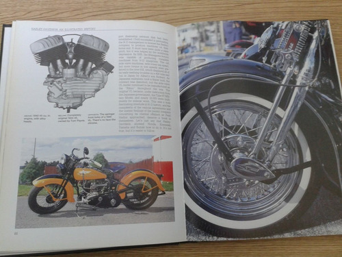 libro harley davidson ilustrated history by shaun barrington