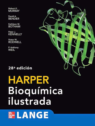 libro: harper: bioquímica ilustrada - robert k. murray - pdf