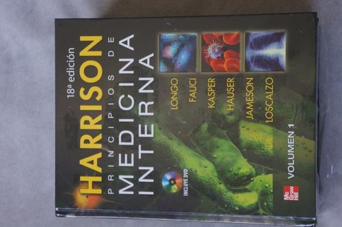 libro harrison principios de medicina interna 18ª ed