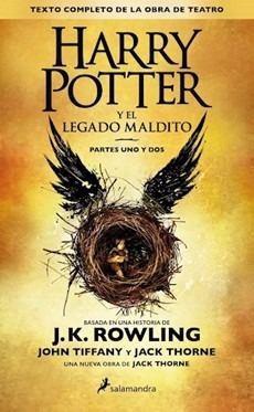 libro harry potter y el legado maldito original / diverti