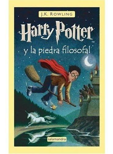 libro harry potter y la piedra filosofal (spanish edition of
