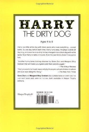 libro harry the dirty dog - nuevo