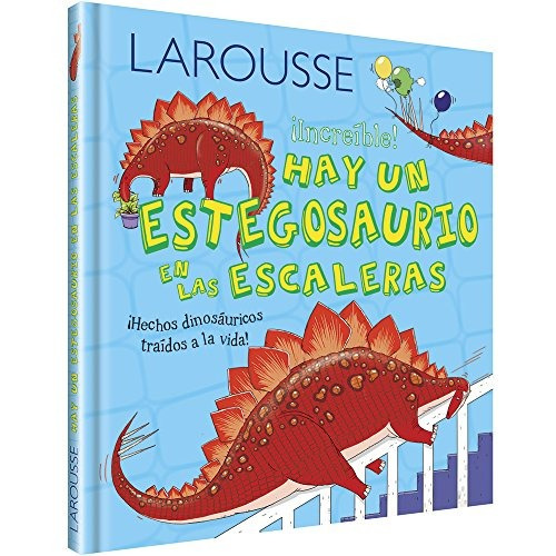 libro hay un estegosaurio en las escaleras - nuevo