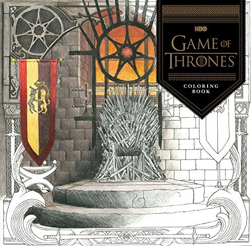 libro hbo's game of thrones coloring book - nuevo