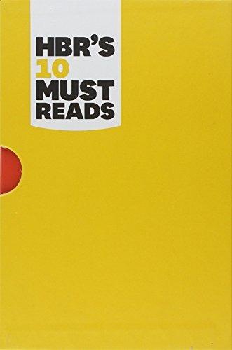 libro hbr's 10 must reads - nuevo -