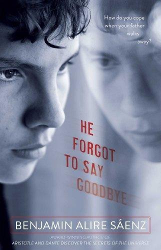 libro he forgot to say goodbye - nuevo -