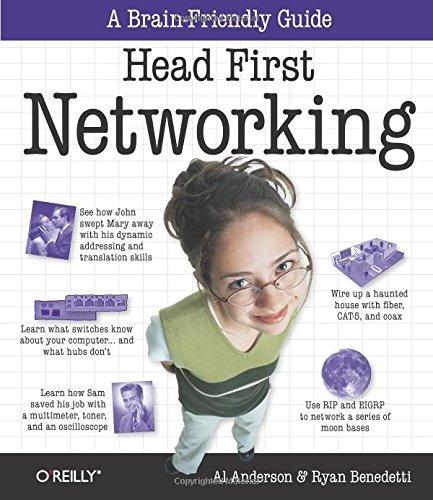 libro head first networking - nuevo