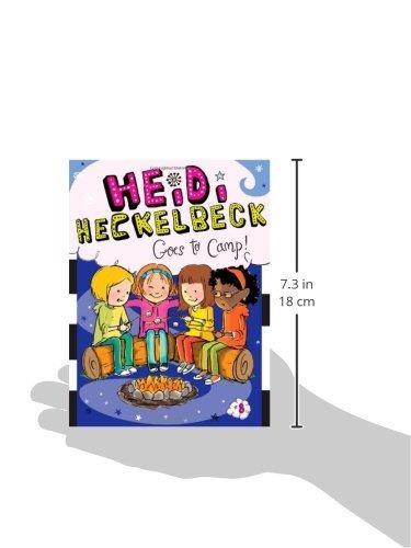 libro heidi heckelbeck goes to camp! - nuevo