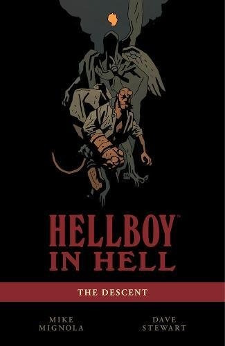 libro hellboy in hell 1: the descent - nuevo