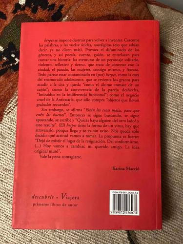 libro herpes de mana prosa poesía viajera