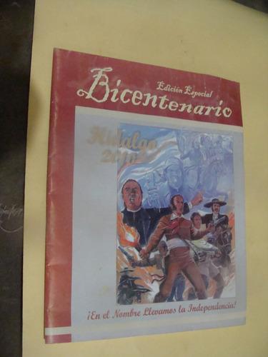 libro hidalgo 2010 edicion especial bicentenario ,  33 pagin