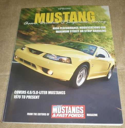 libro high performance ford mustang tuning chasis suspension