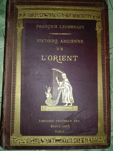 libro histoire ancienne de l'orient