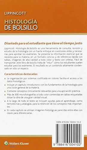 Libro : Histologia De Bolsillo - Lisa M.j. Lee Phd - $ 2.759,00 en ...