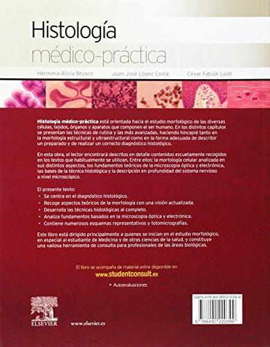 libro histología médico-práctica. student consult en español