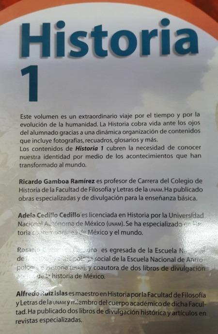 Libro Historia 1 Secundaria - $ 130.00 en Mercado Libre