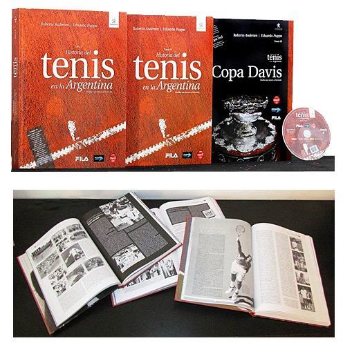libro historia del tenis en la argentina