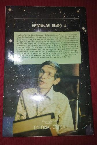 libro historia del tiempo.