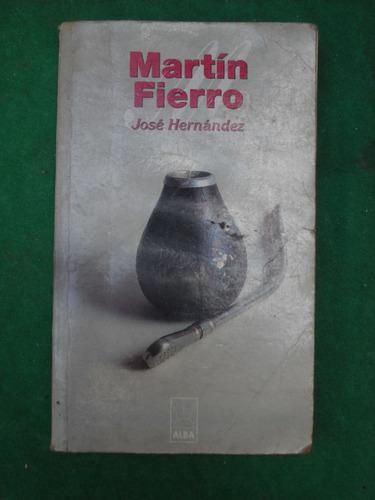 libro historia poesia martin fierro jose hernandez
