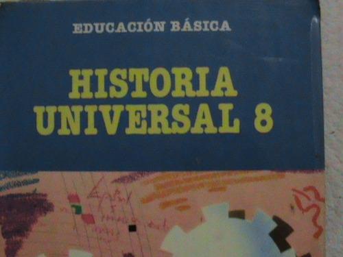 libro historia universal 8 octavo grado santillana