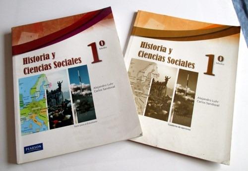 libro historia y ciencias sociales primero medio pearson