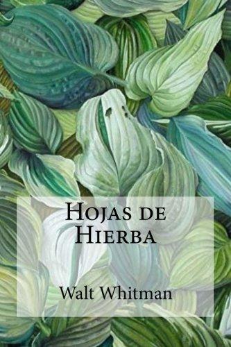 libro : hojas de hierba  - walt whitman