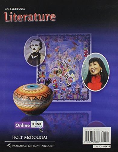 Libro Holt Mcdougal Literature Grade 8: Common Core Editio
