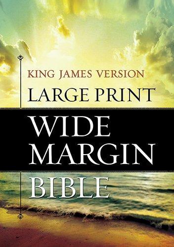 libro holy bible: king james version, wide margin - nuevo