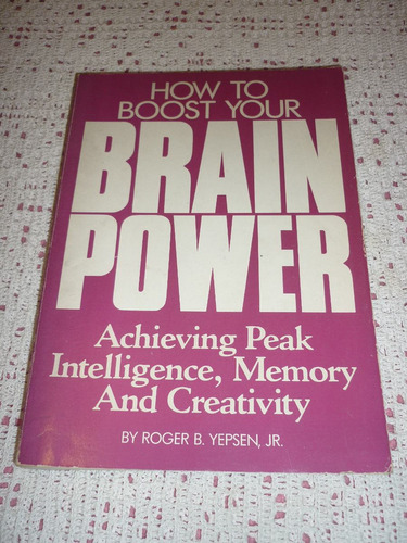 libro how to boost your brain power - 1987 actividad cerebro