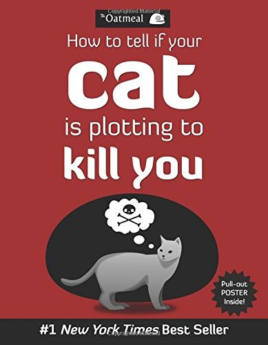 libro how to tell if your cat is plotting to kill you