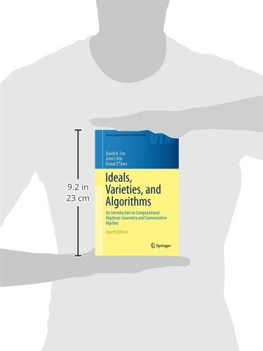 libro ideals, varieties, and algorithms: an introduction t