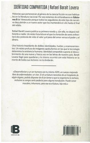 libro, identidad compartida de rafael baralt lovera.