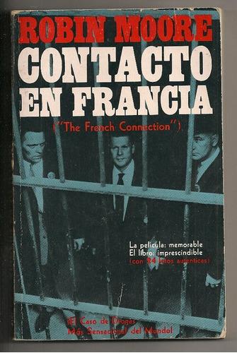 libro ilustrado novela contacto en francia novaro 1972