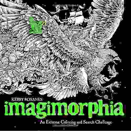 Libro Imagimorphia Adult Coloring Book: An Extreme Coloring ...