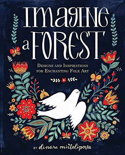 libro imagine a forest: designs and inspirations for encha