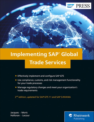 libro implementing sap global trade services